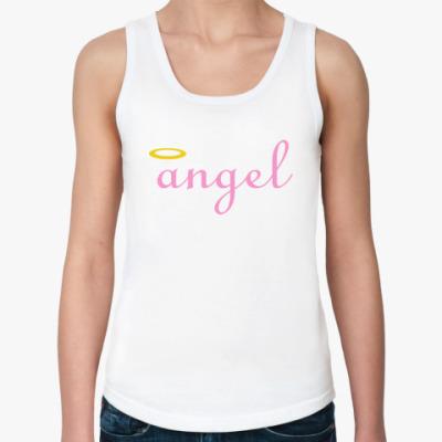 Женская майка Ангел