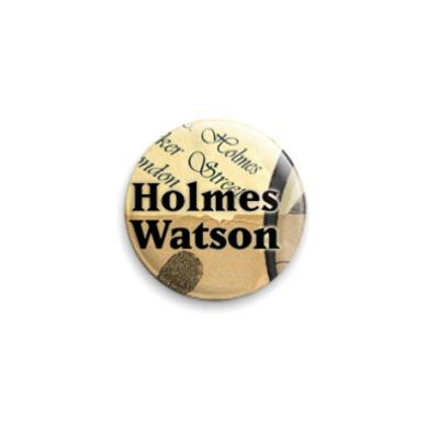 Значок 25мм Holmes/Watson (OTH31)