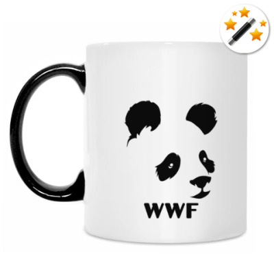 Кружка-хамелеон WWF. Альтер - Панда с лого