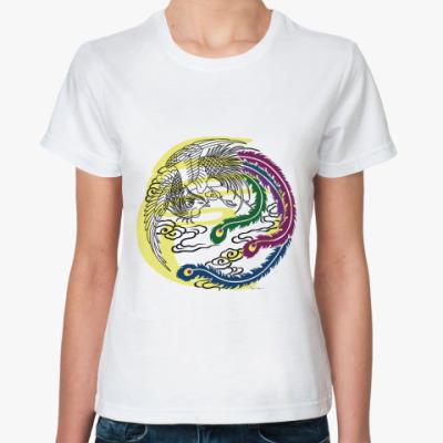 Классическая футболка  Жарптица