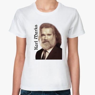 Классическая футболка Карл Маркс