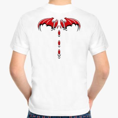 Детская футболка Крылья демона