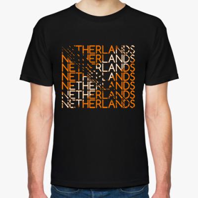Футболка Сборная Голландии - Нидерландов по футболу