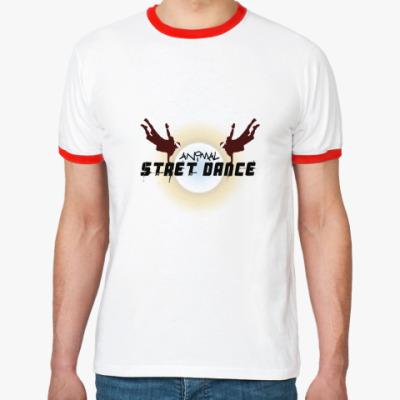 Футболка Ringer-T street dance