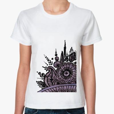 Классическая футболка Летний перламутр