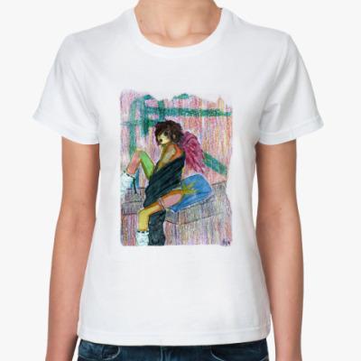 Классическая футболка punk aya
