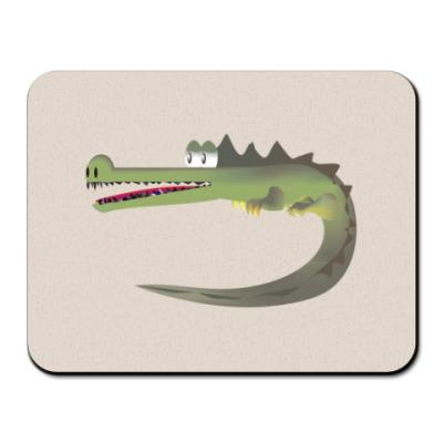 Коврик для мыши Крокодильчик :)