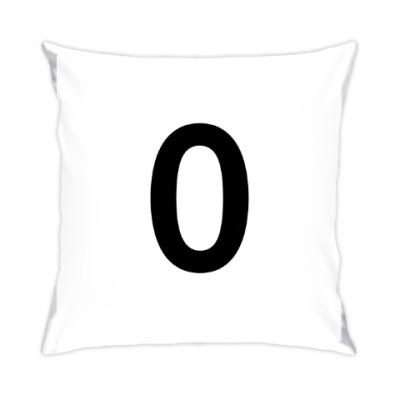 Подушка Цифра 0