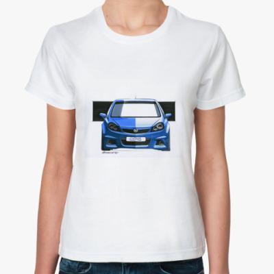 Классическая футболка Автомобиль Opel