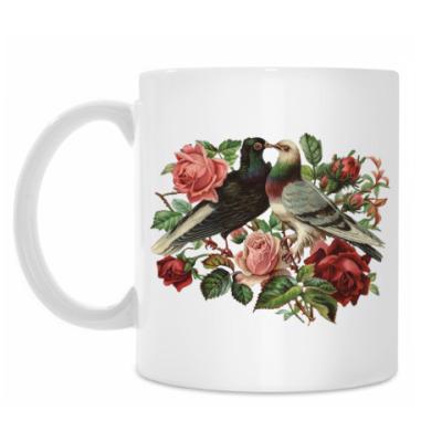 Кружка Воркующие голубки