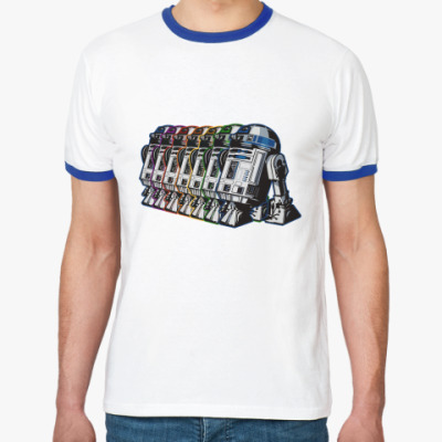 Футболка Ringer-T R2D2 Paint Squad
