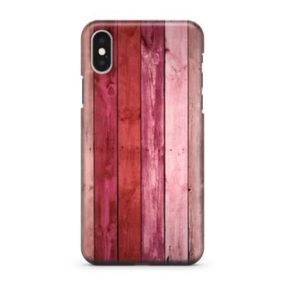 Чехол для iPhone X Дерево