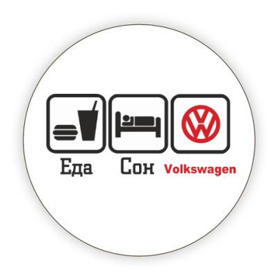 Костер (подставка под кружку) Volkswagen