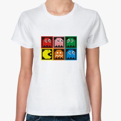 Классическая футболка Pacman