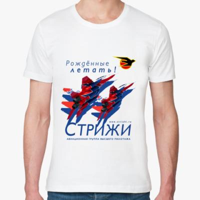 Футболка из органик-хлопка   МиГ-29 Стрижи