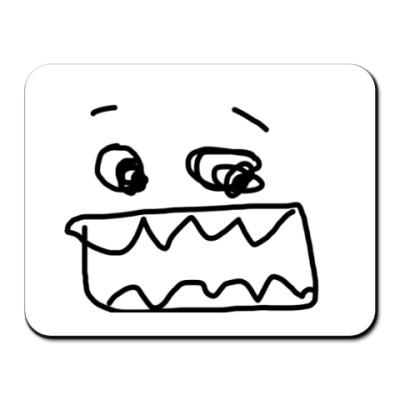 Коврик для мыши зубы