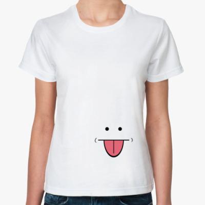 Классическая футболка Маленькая рожица