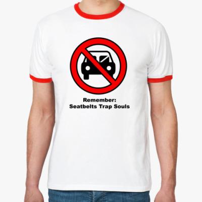 Футболка Ringer-T   Seatbelt