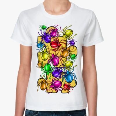 Классическая футболка паучки