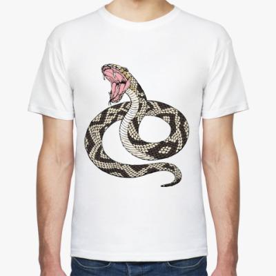 Футболка  Мужская 2013 змея