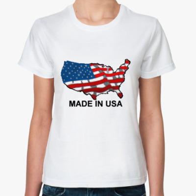 Классическая футболка MADE IN USA