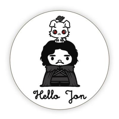 Костер (подставка под кружку) Hello Jon