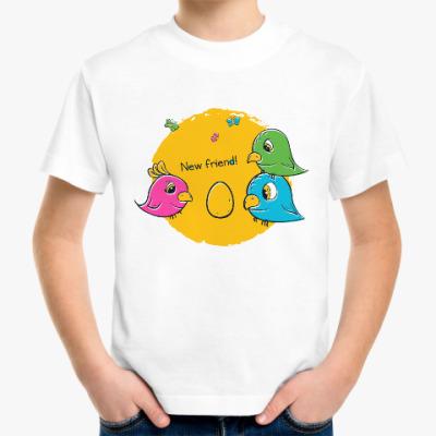 Детская футболка New Friend