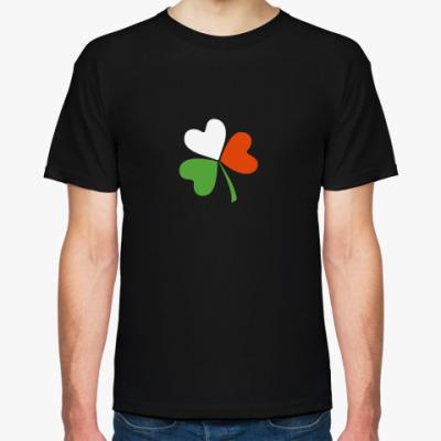Футболка Ирландский клевер