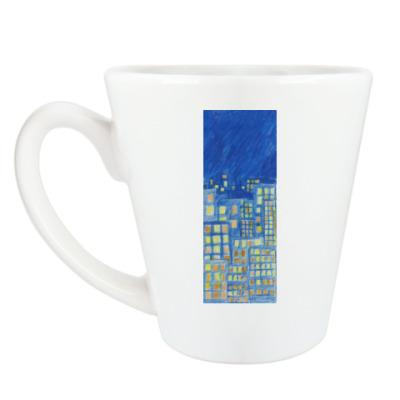Чашка Латте 'Город'