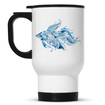 Кружка-термос Рыбка