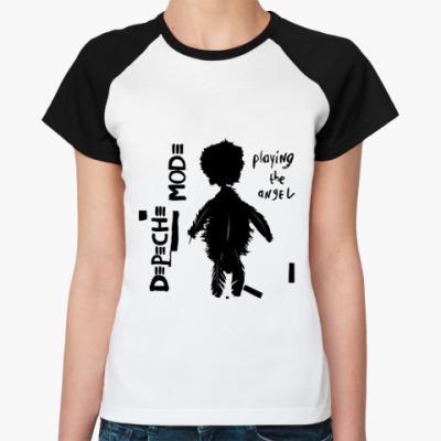 Женская футболка реглан DM angel