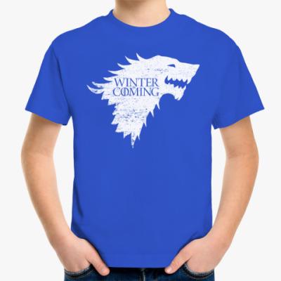 Детская футболка Winter is Coming
