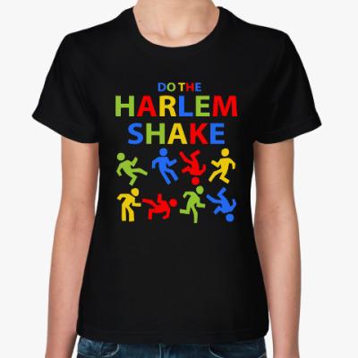 Женская футболка Harlem Shake