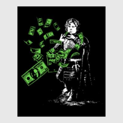 Постер Тирион и деньги