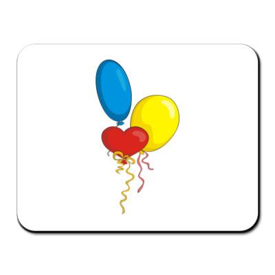 Коврик для мыши Воздушные шарики