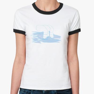Женская футболка Ringer-T ship?