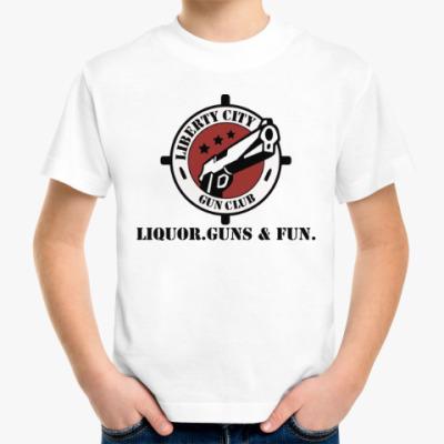 Детская футболка Grand Theft Auto - Gun Club
