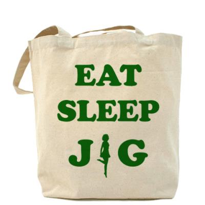 Сумка Eat. Sleep.Jig