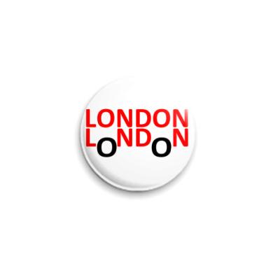 Значок 25мм London