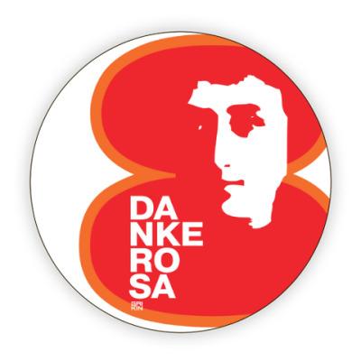 Костер (подставка под кружку) 8 марта Danke Rosa 1