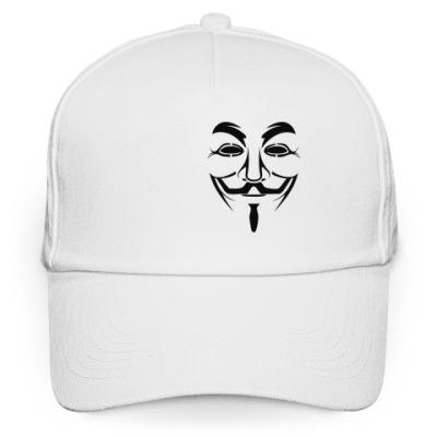 Кепка бейсболка Маска Анонимуса