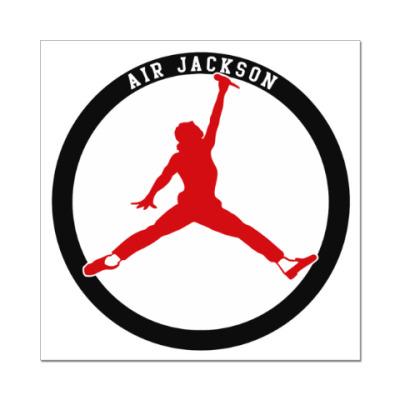 Наклейка (стикер) Air Jackson