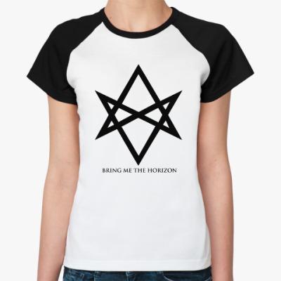 Женская футболка реглан Bring Me The Horizon