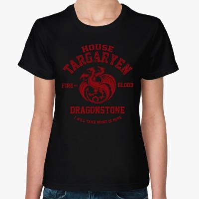 Женская футболка Игра престолов.Таргариены