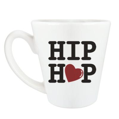 Чашка Латте Люблю хип-хоп