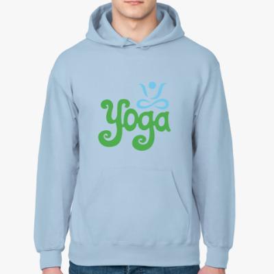Толстовка худи Yoga.