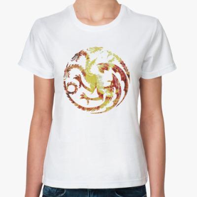Классическая футболка Khaleesi