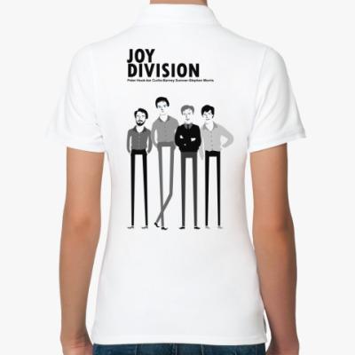 Женская рубашка поло Joy Division