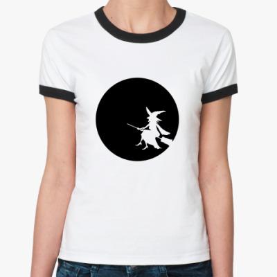 Женская футболка Ringer-T Halloween