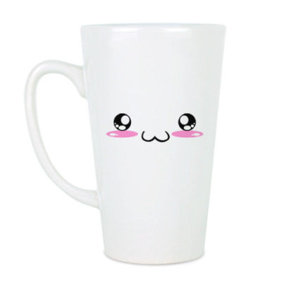 Чашка Латте Kawaii